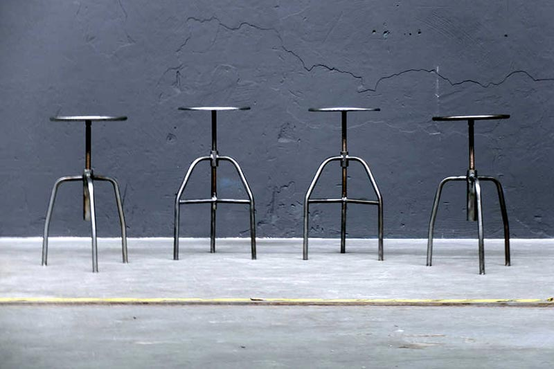 Vintage & Contemporary Stools